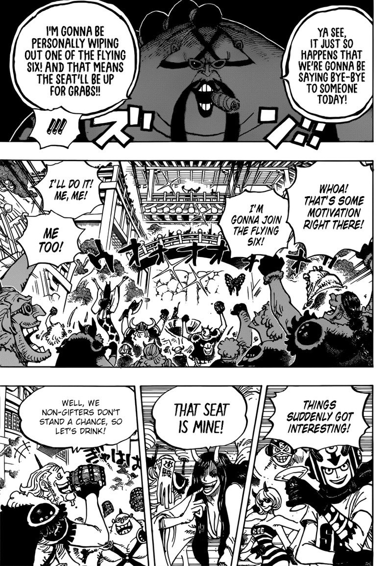 One Piece, Chapter 980 image 009