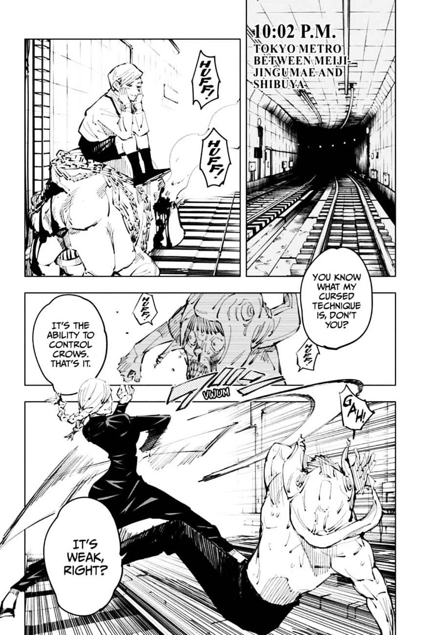 Jujutsu Kaisen, Chapter 98 image 012