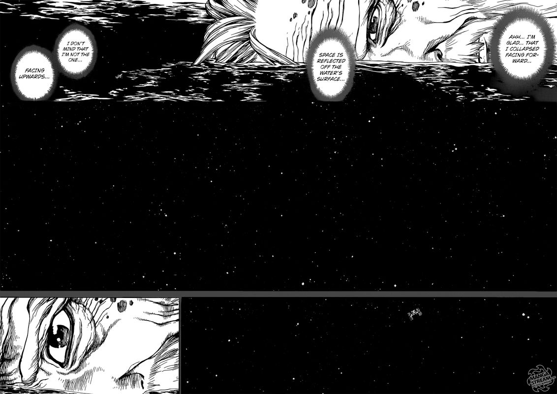 Dr. Stone : Chapter 115 - One second and one grain image 015