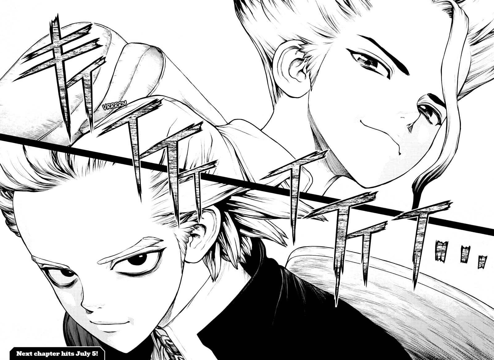 Dr. Stone : Chapter 156 - Two Scientists image 021