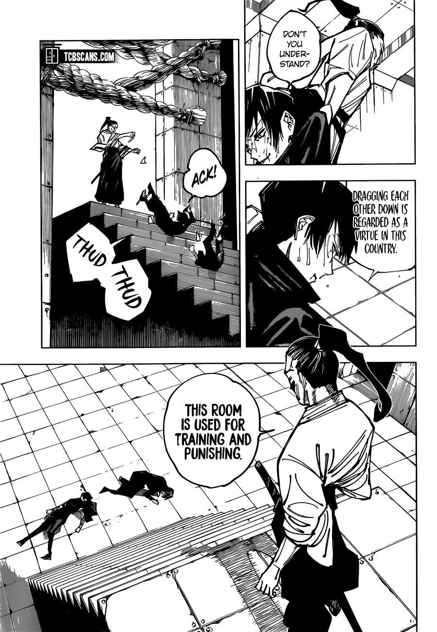 Jujutsu Kaisen, Chapter 149 image 004