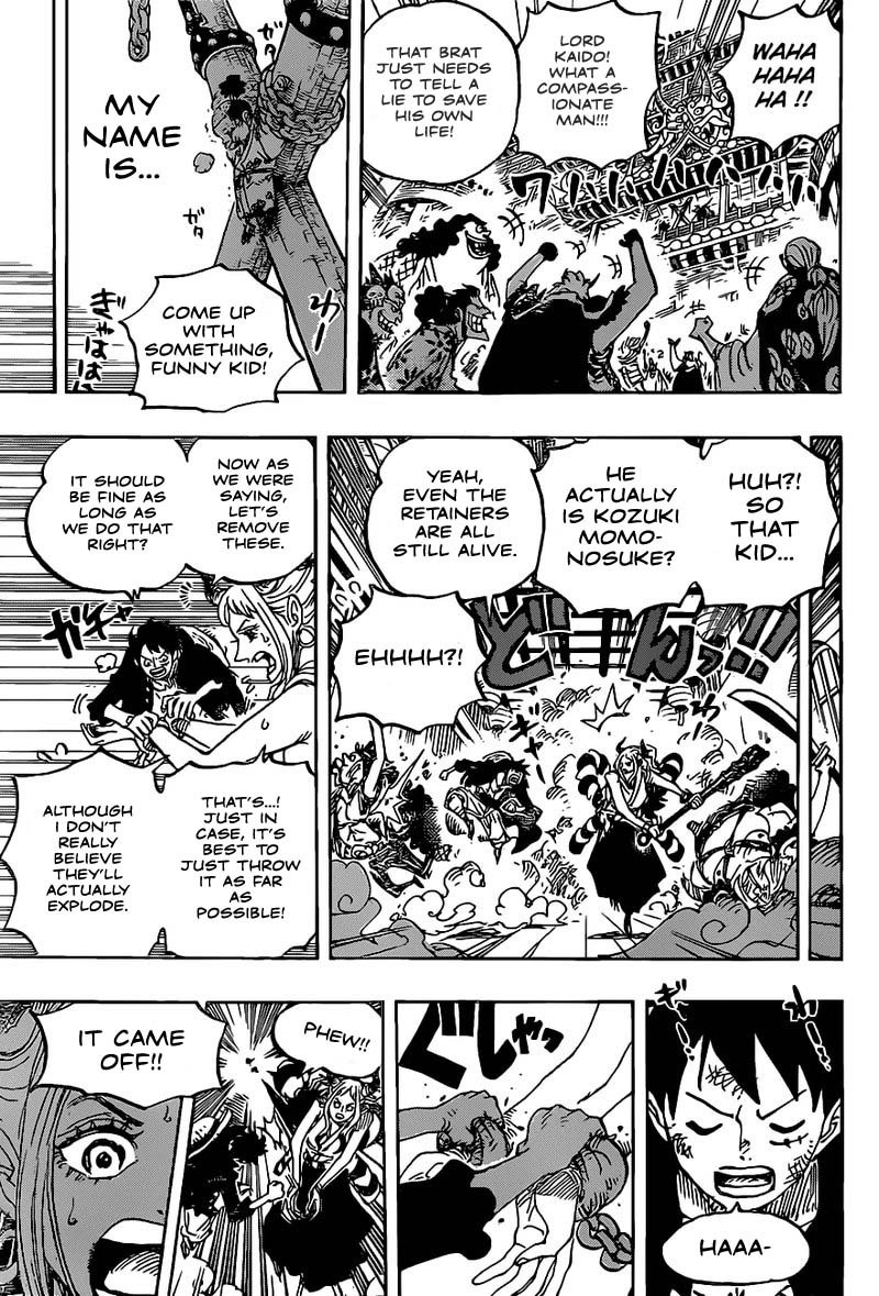 One Piece, Chapter 986 image 008