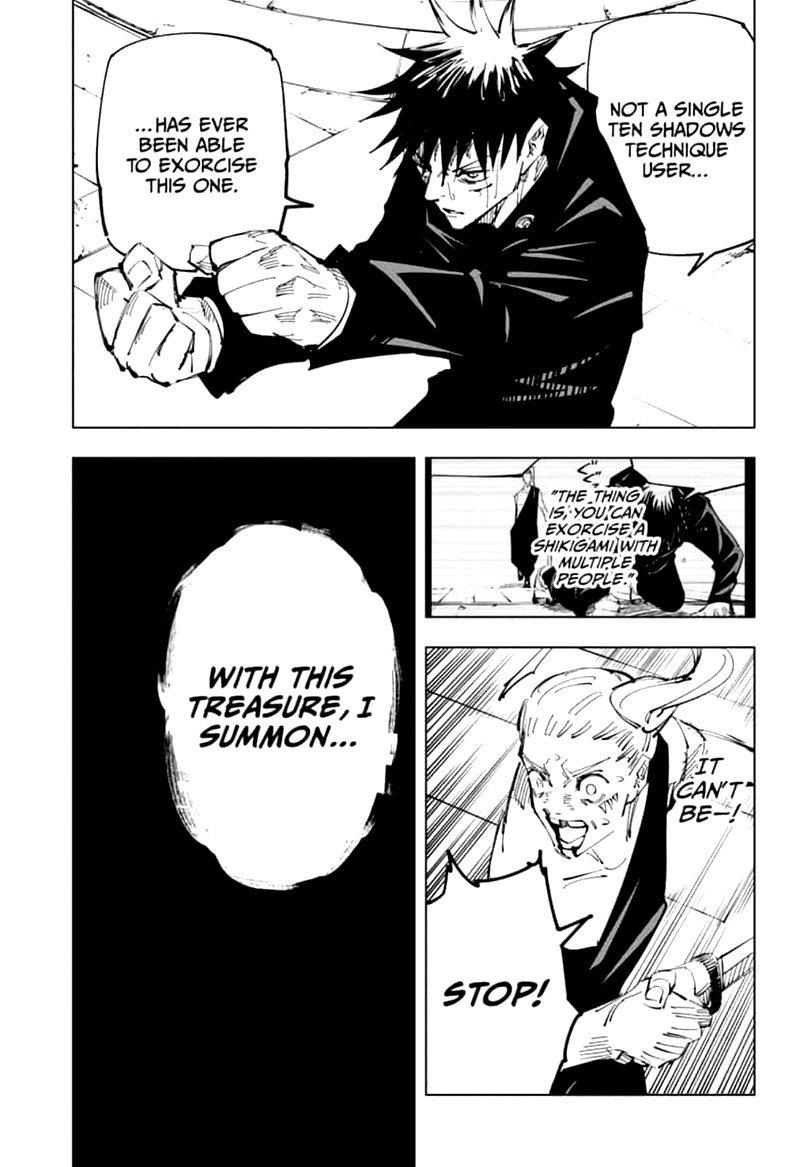 Jujutsu Kaisen, Chapter 117 image 008