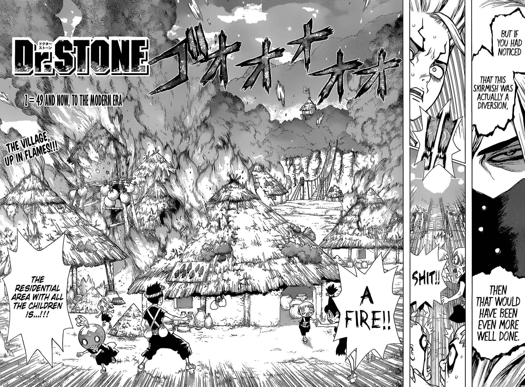 Dr. Stone : Chapter 49 - And now, to the Modern Era image 002