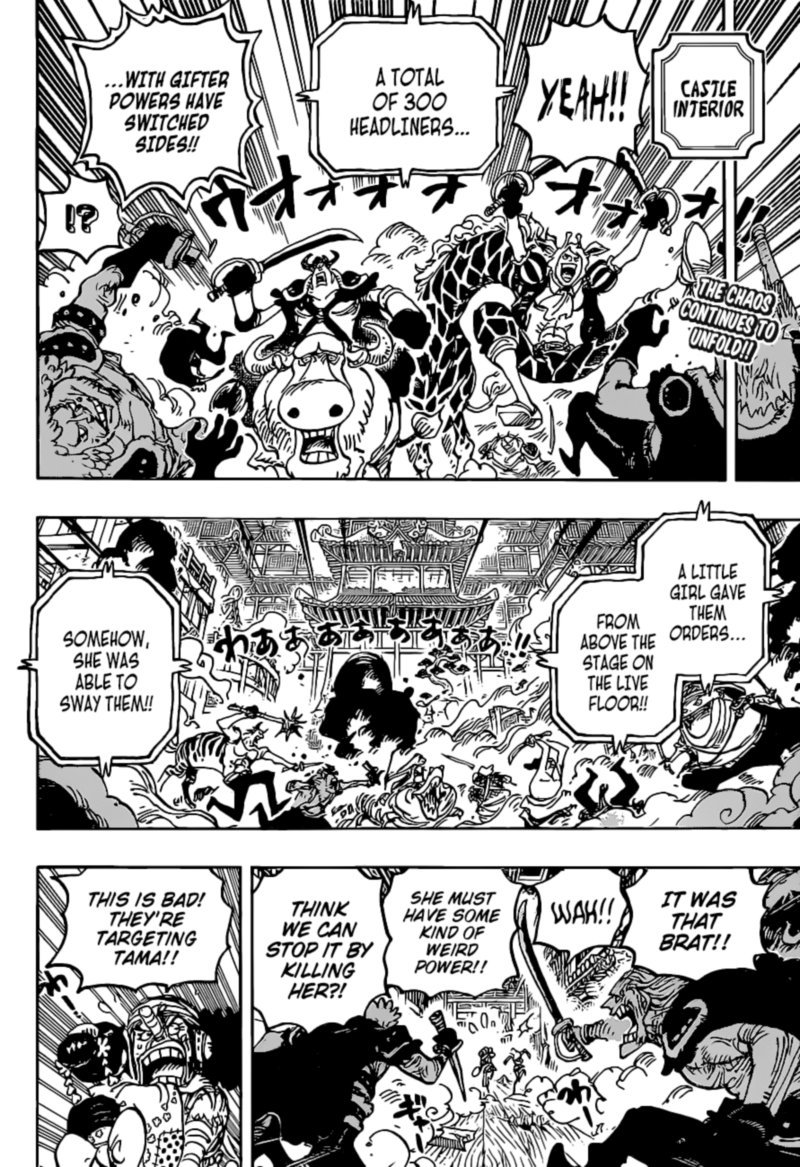 One Piece, Chapter 1018 image one_piece_1018_2