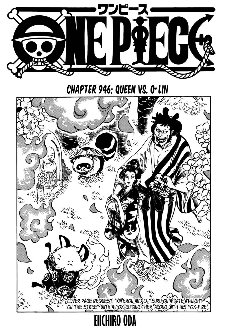 One Piece, Chapter 946 image 001