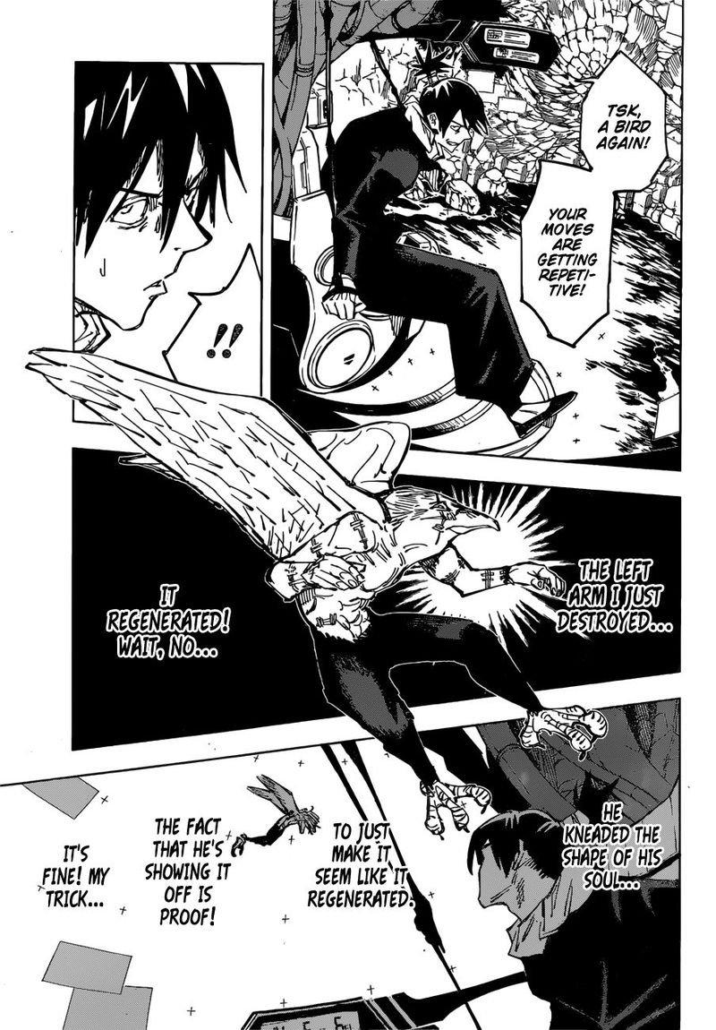 Jujutsu Kaisen, Chapter 81 image 008
