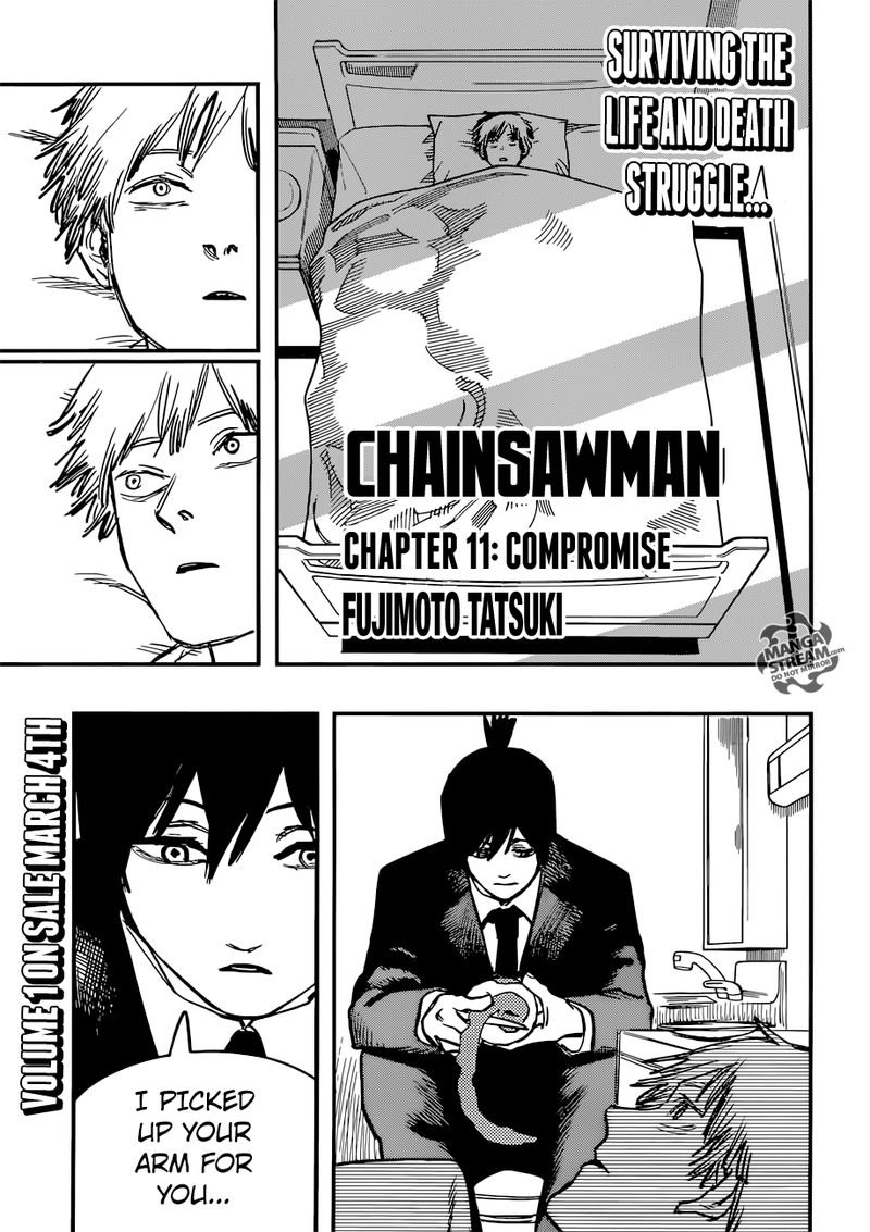 Chainsaw Man, Chapter 11 - Compromise image 001