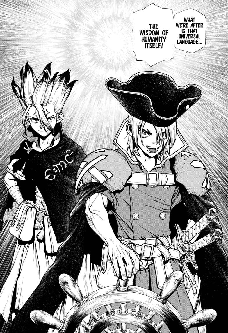 Dr. Stone, Chapter 204 image 004