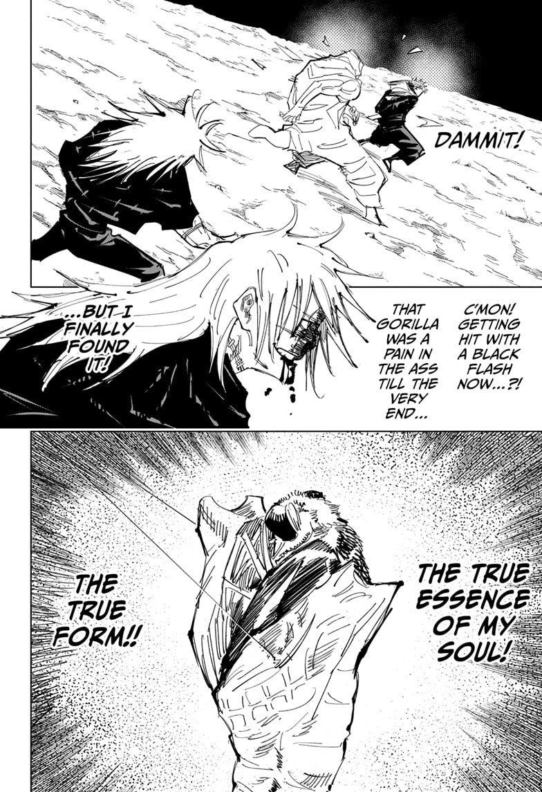 Jujutsu Kaisen, Chapter 130 image 014