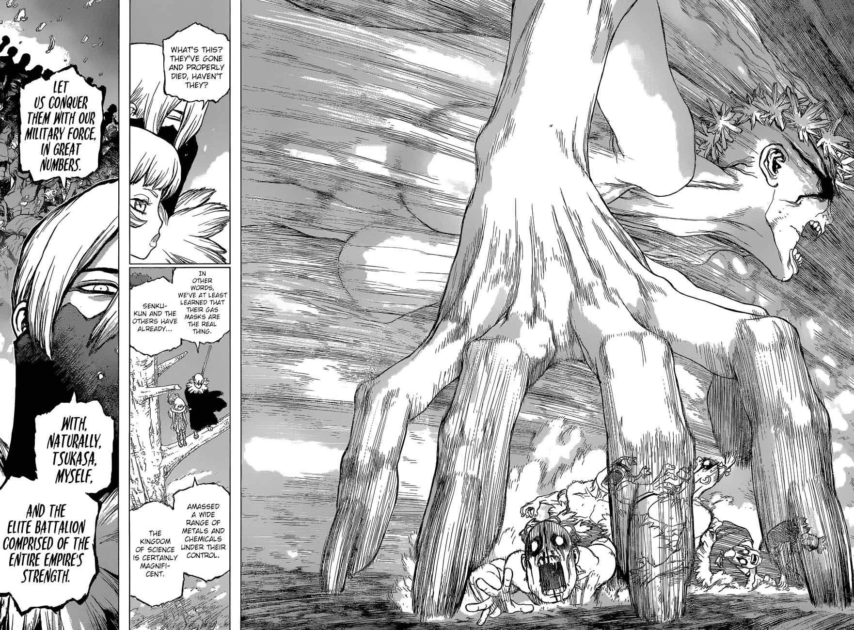 Dr. Stone : Chapter 49 - And now, to the Modern Era image 015