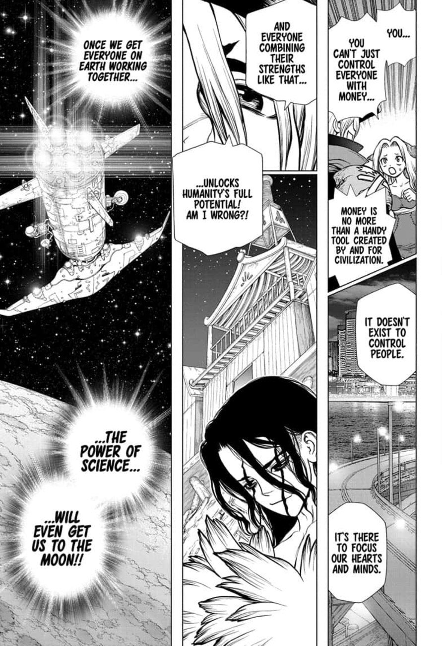 Dr. Stone : Chapter 142 - World Power image 014