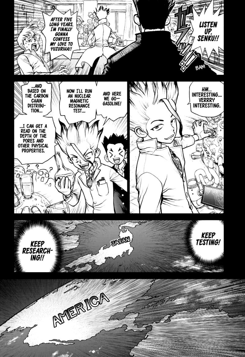 Dr. Stone : Chapter 157 - Same Time, Same Place image 005