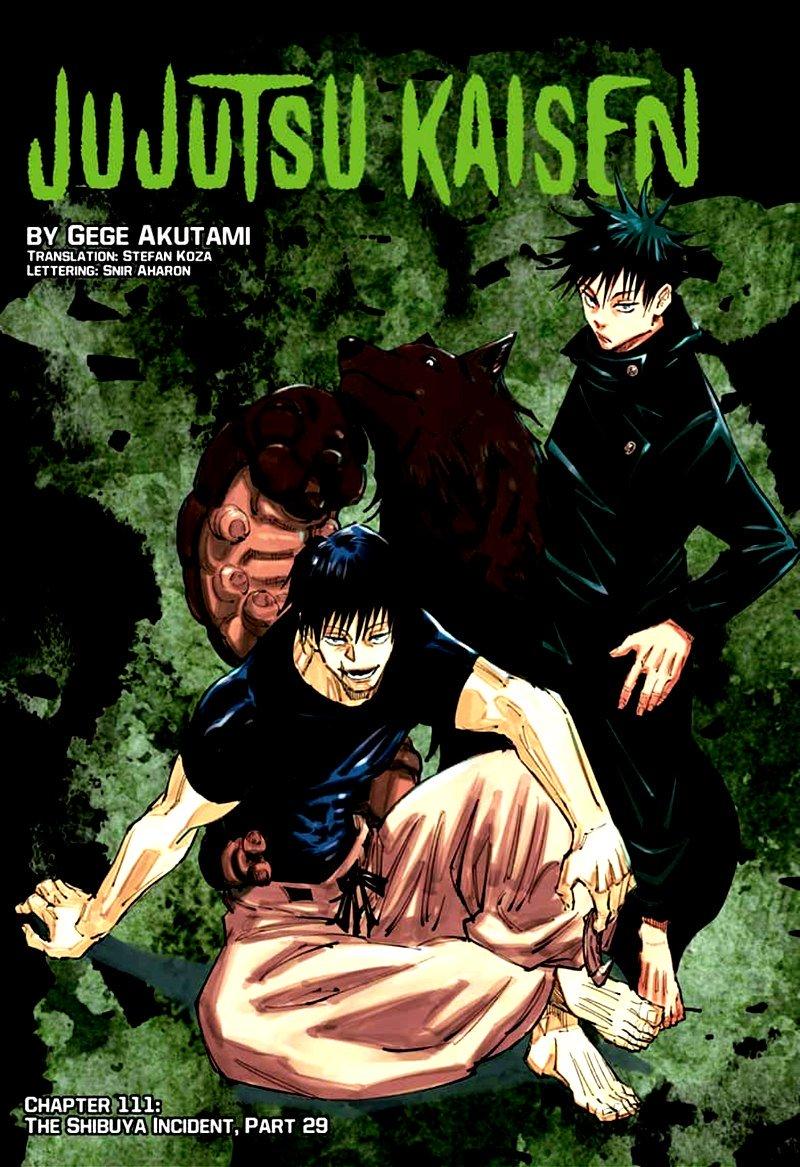 Jujutsu Kaisen, Chapter 111 image 001