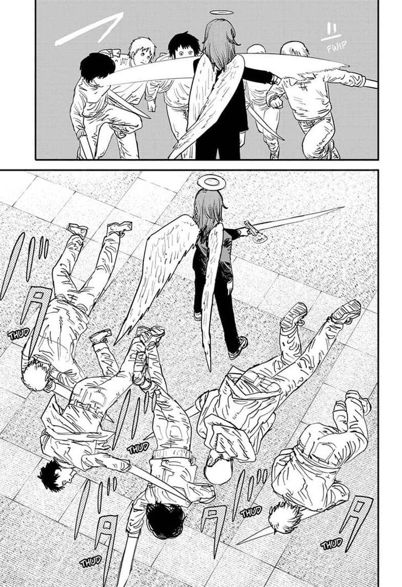 Chainsaw Man, Chapter 60 - Quanxi and Friends Cut Down 49 People image 005