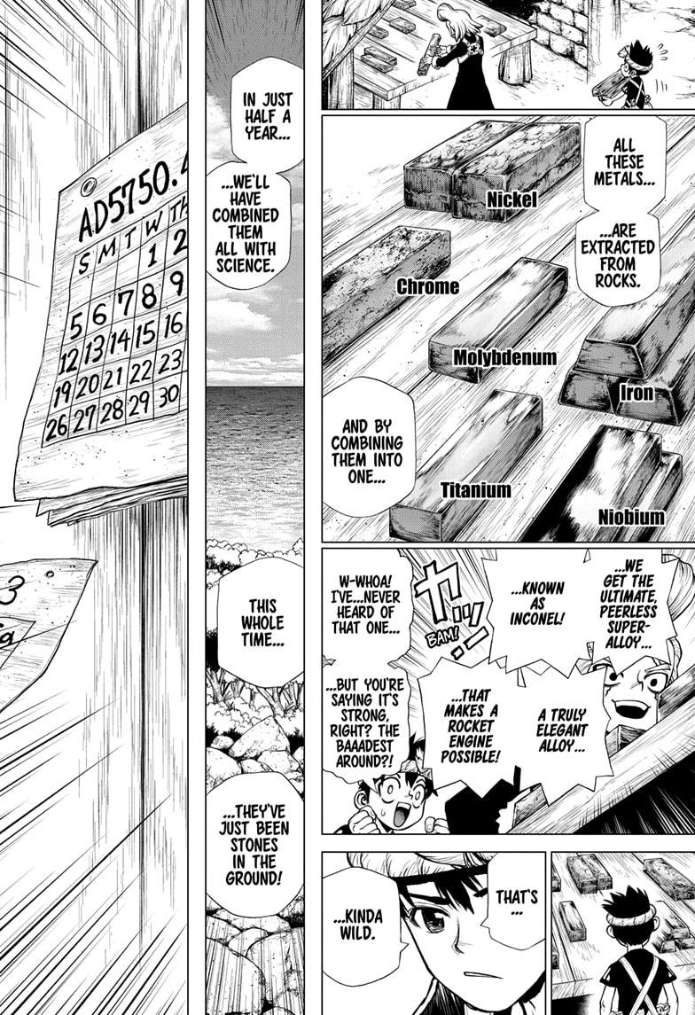 Dr. Stone, Chapter 200 image 006
