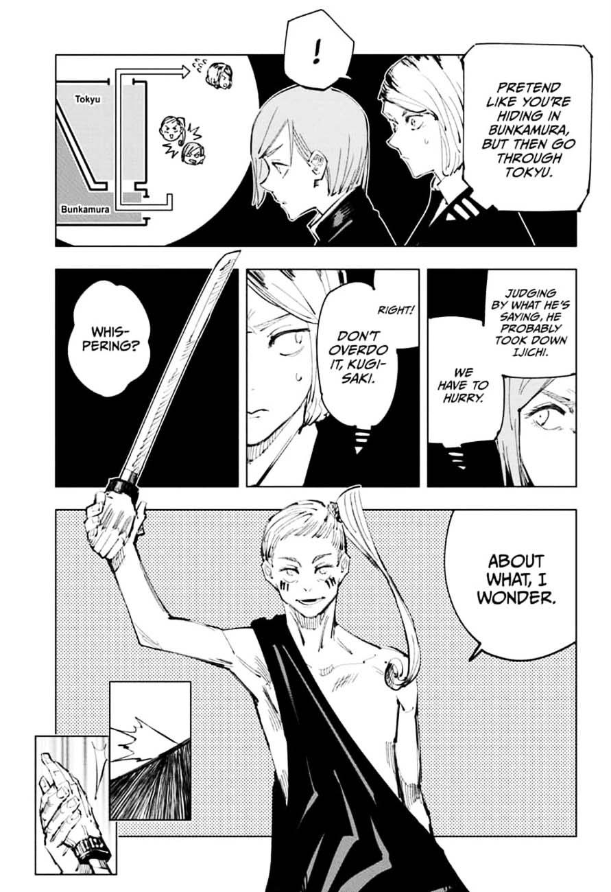 Jujutsu Kaisen, Chapter 99 image 005