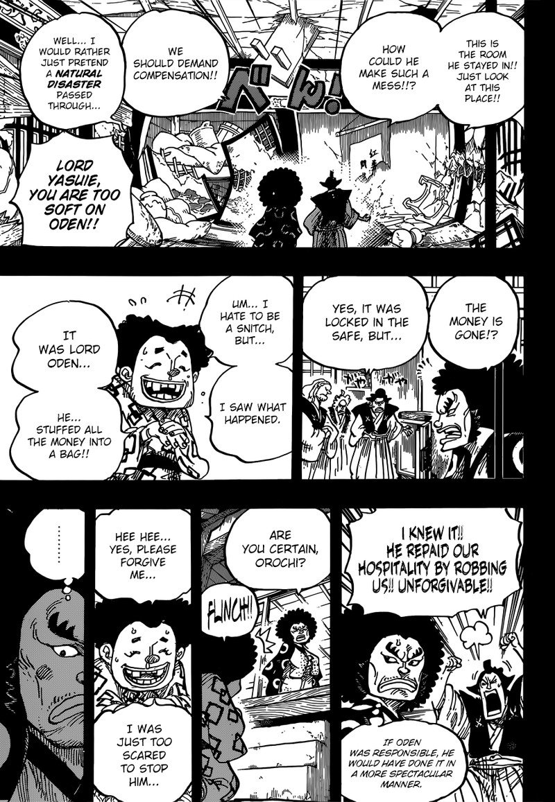 One Piece, Chapter 962 image 003