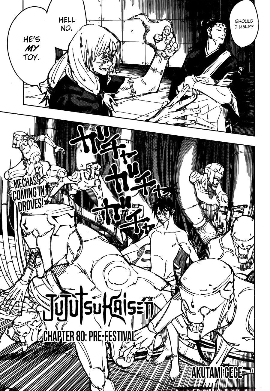 Jujutsu Kaisen, Chapter 80 image 001