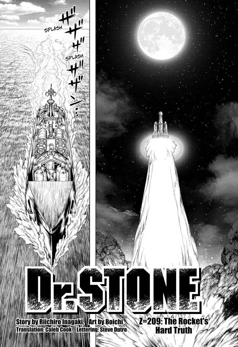 Dr. Stone, Chapter 209 image 02