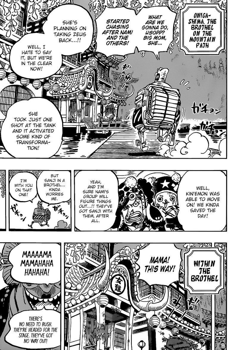 One Piece, Chapter 983 image 003