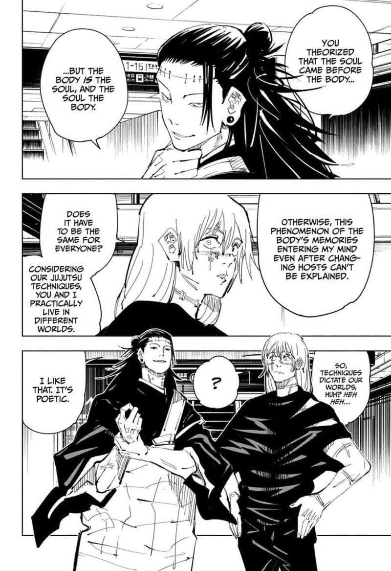 Jujutsu Kaisen, Chapter 91 image 004