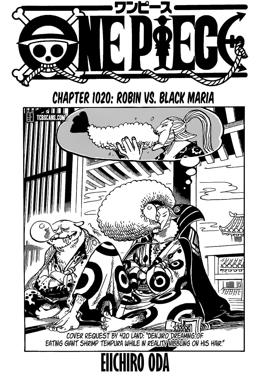 One Piece, Chapter 1020 image 001
