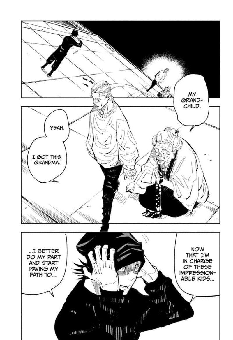 Jujutsu Kaisen, Chapter 94 image 015