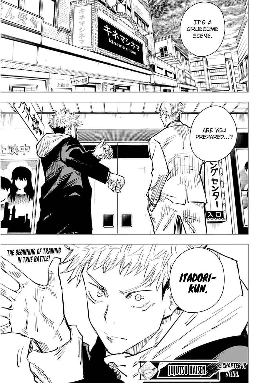 Jujutsu Kaisen, Chapter 18 image 019