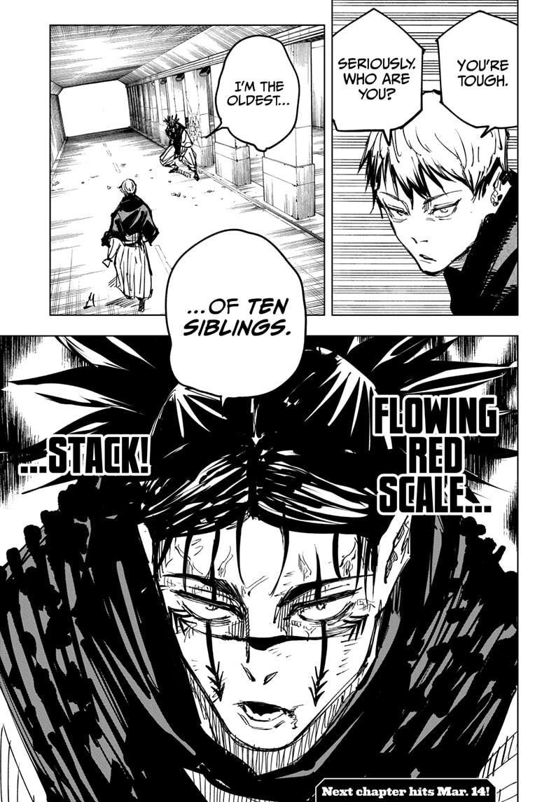 Jujutsu Kaisen, Chapter 141 image 019