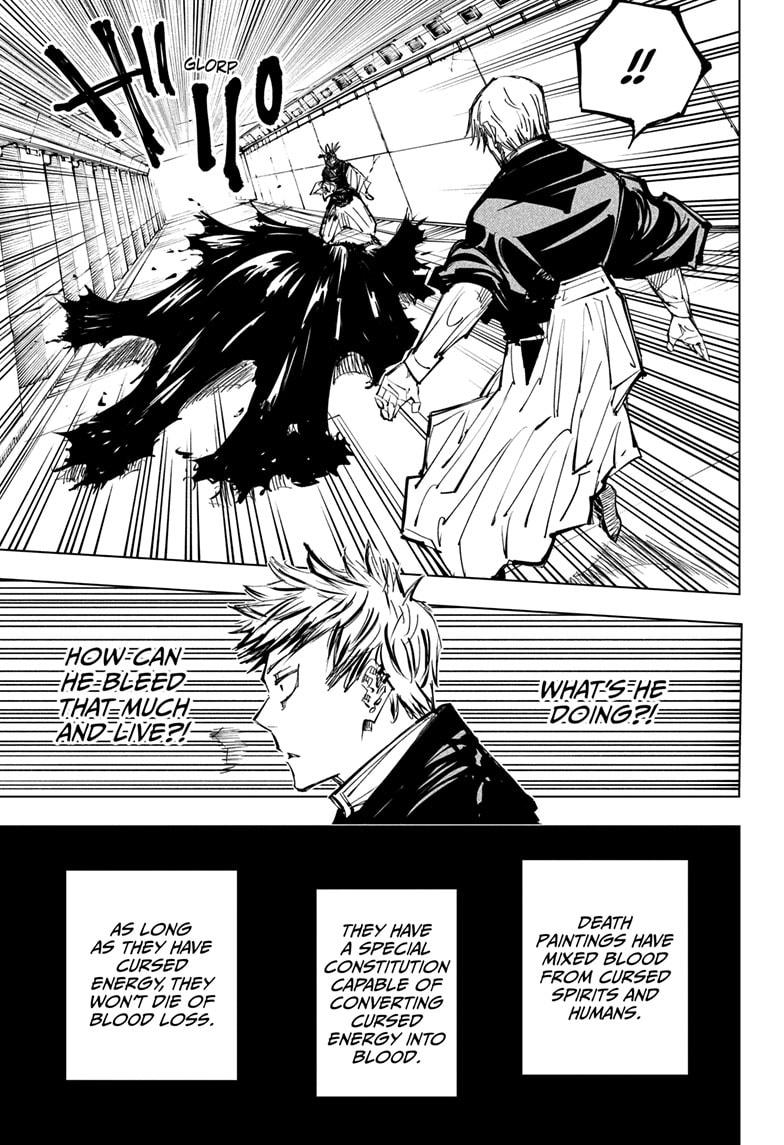 Jujutsu Kaisen, Chapter 142 image 009