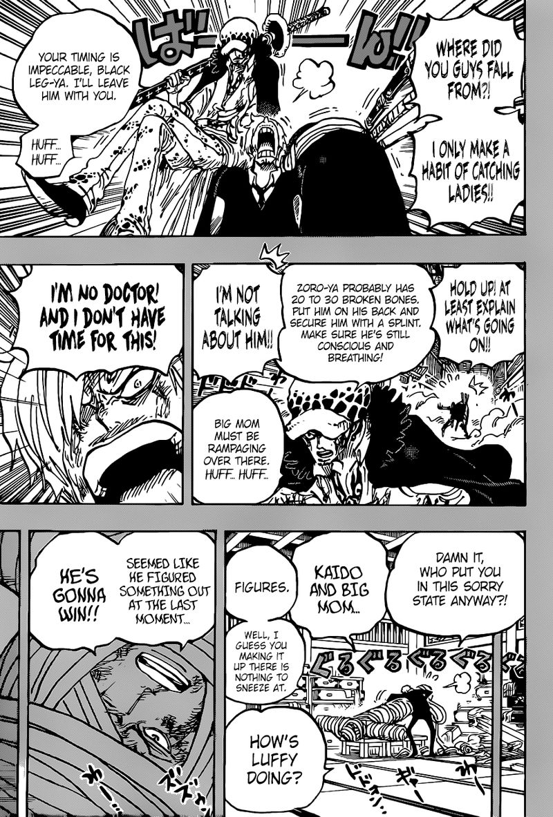One Piece, Chapter 1012 image one_piece_1012_9