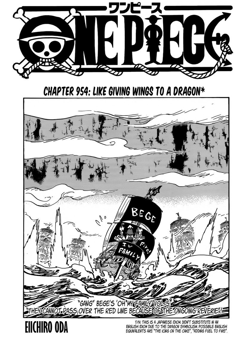 One Piece, Chapter 954 image 001
