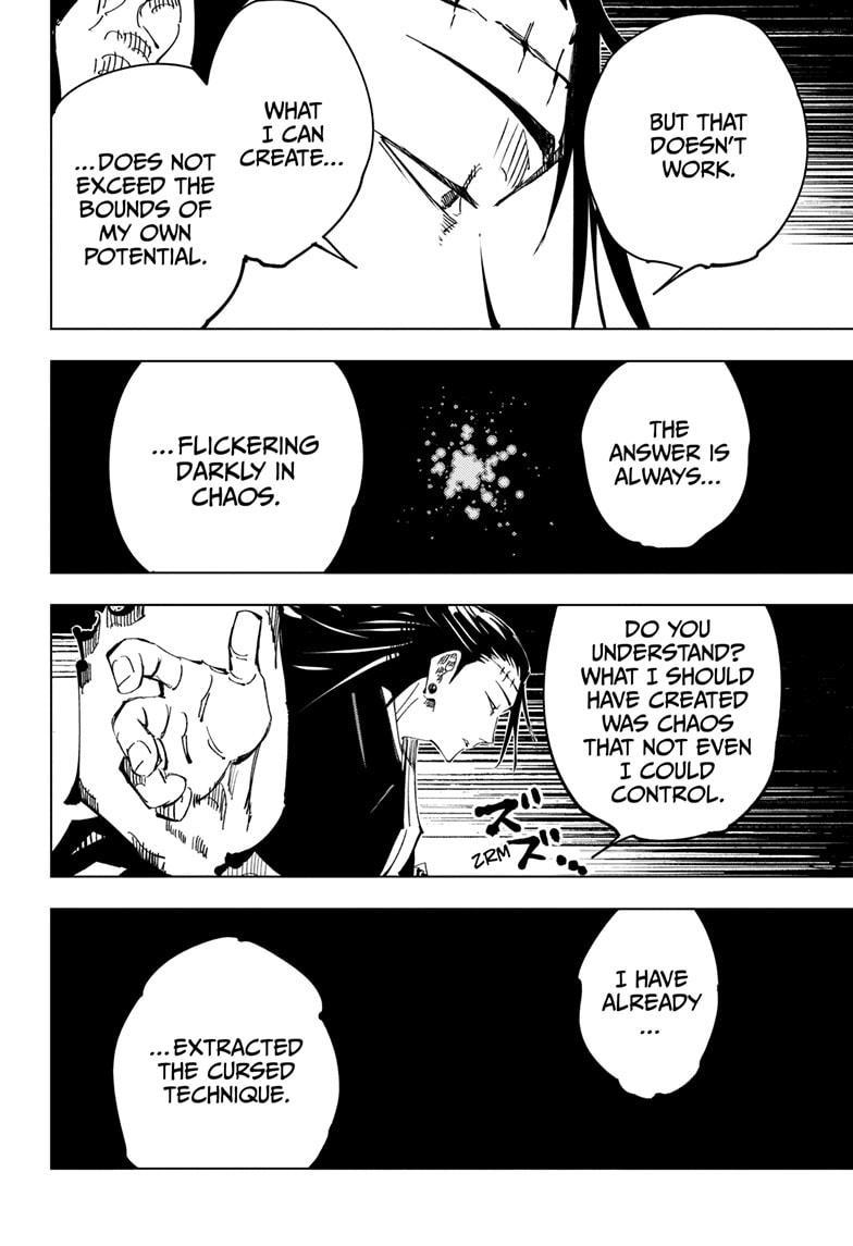 Jujutsu Kaisen, Chapter 136 image 006