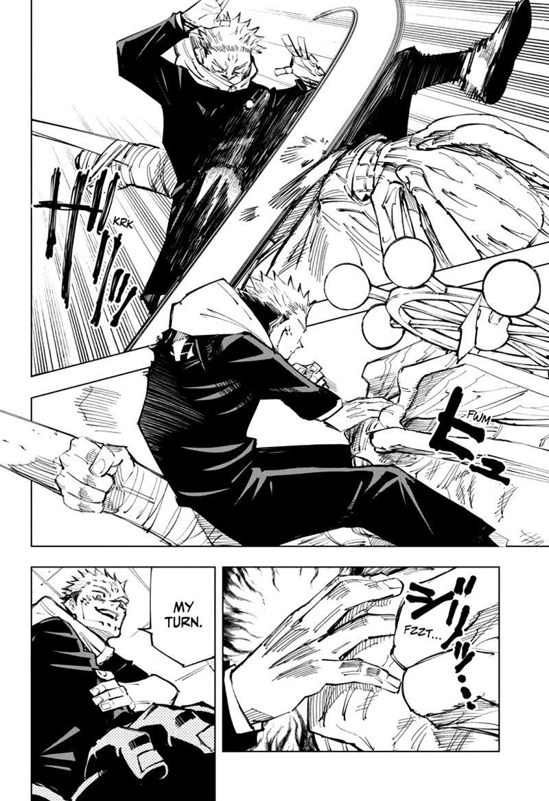 Jujutsu Kaisen, Chapter 118 image 010
