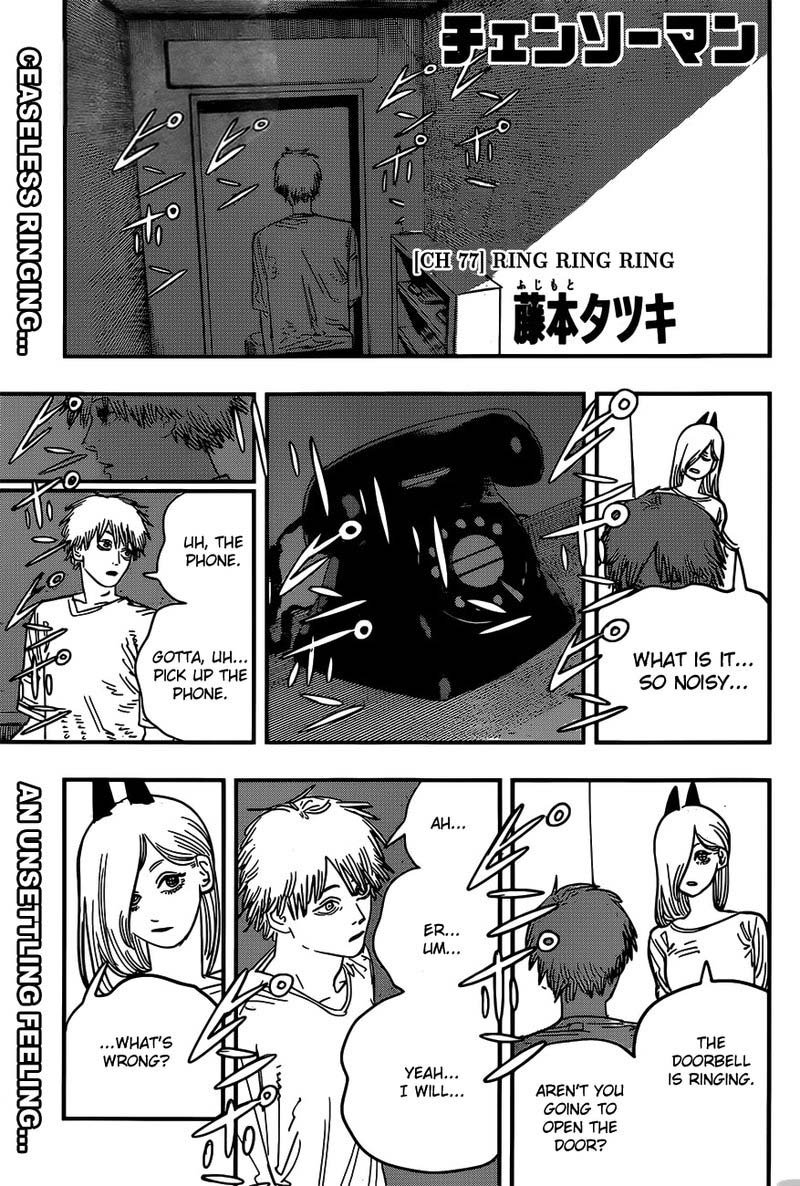 Chainsaw Man, Chapter 77 - Ring Ring Ring image 001