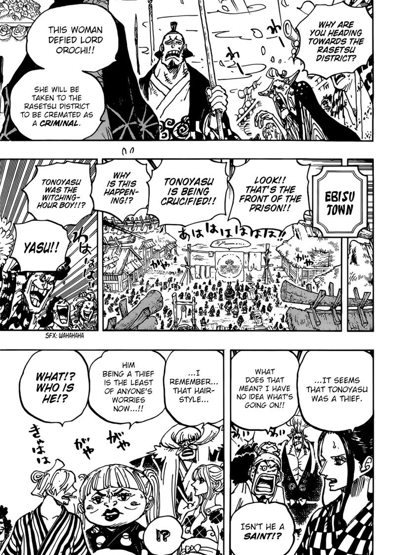 One Piece, Chapter 941 image 015