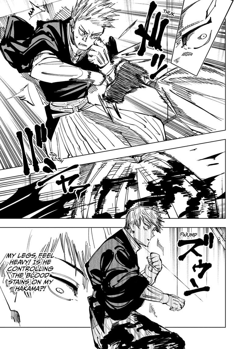 Jujutsu Kaisen, Chapter 142 image 013