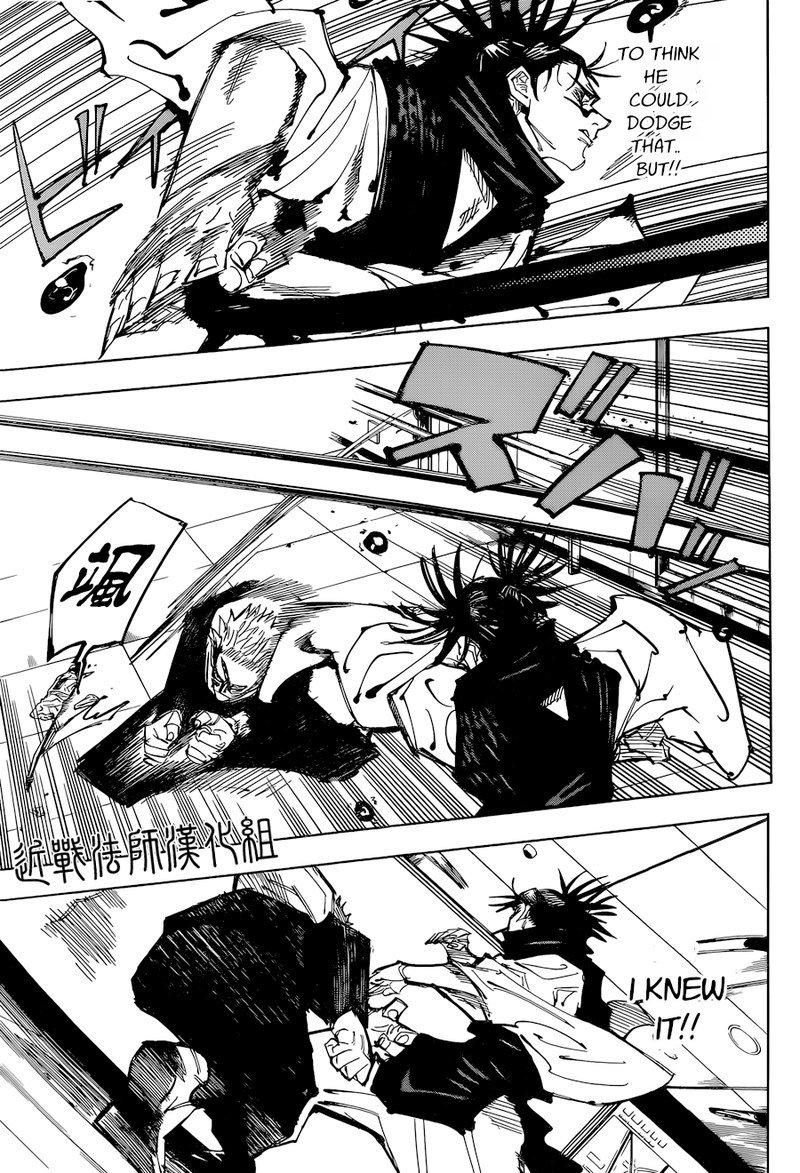 Jujutsu Kaisen, Chapter 103 image 007