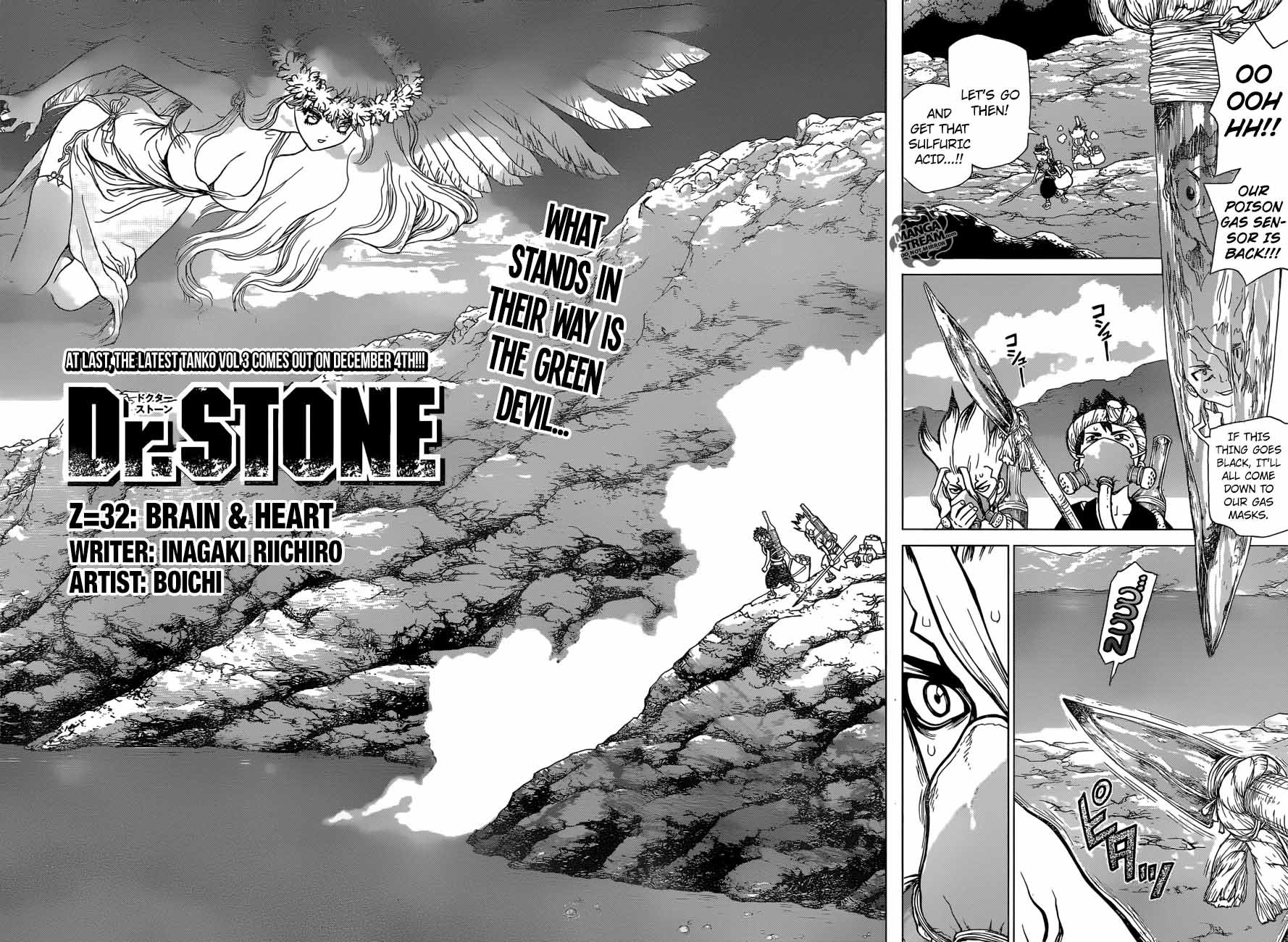 Dr. Stone : Chapter 32 - Brain & Heart image 002