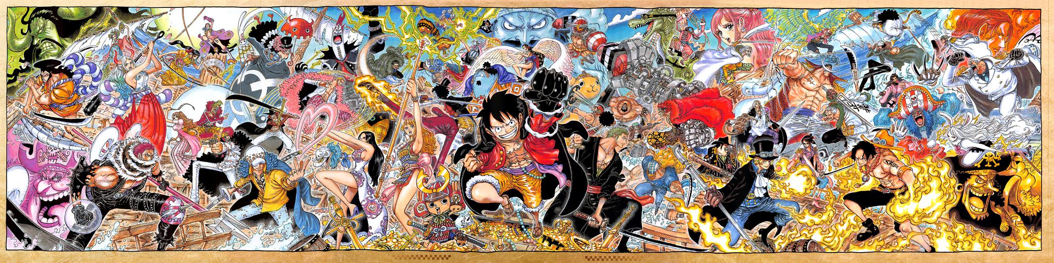 One Piece, Chapter 1025 image 04