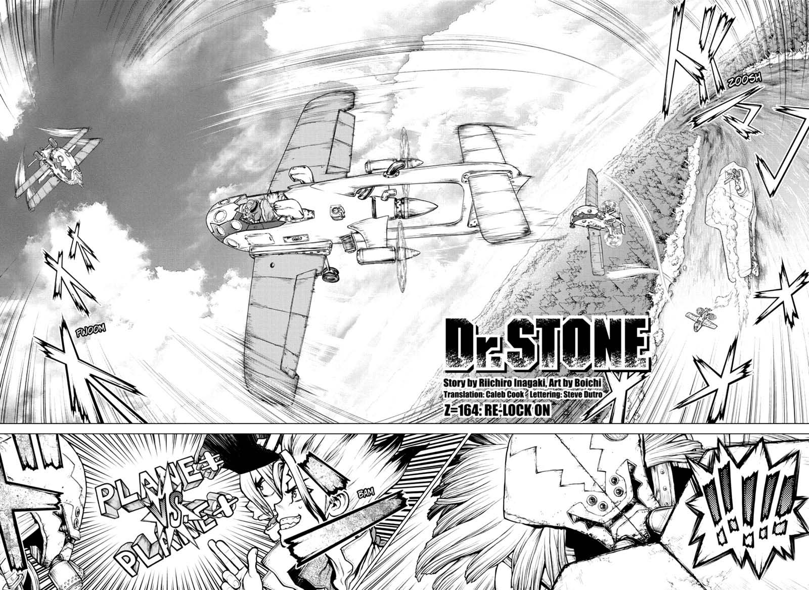 Dr. Stone : Chapter 164 - Re-Lock On image 002