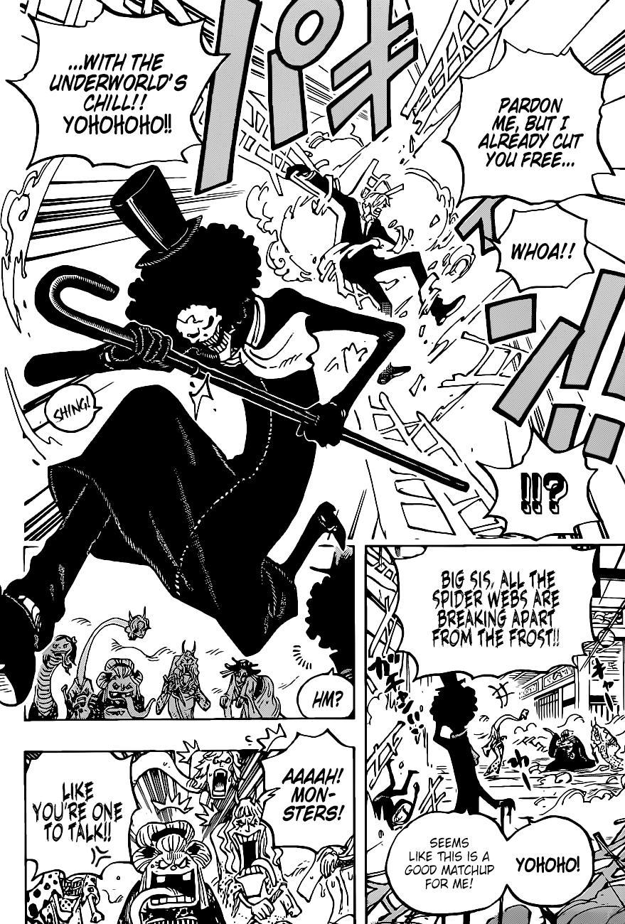 One Piece, Chapter 1005 image 012