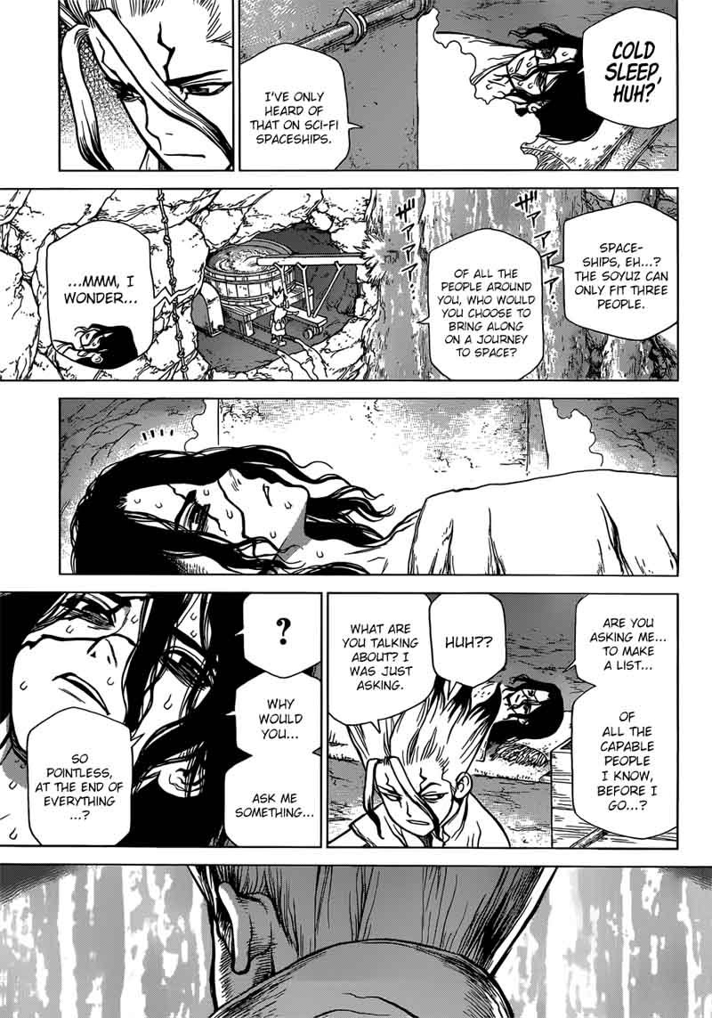 Dr. Stone : Chapter 83 - image 016