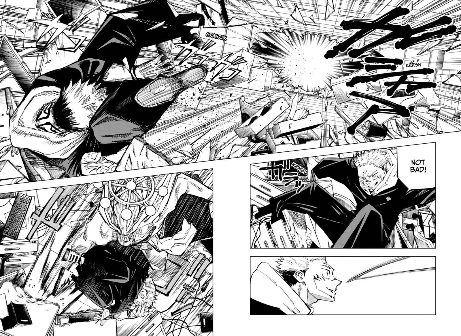 Jujutsu Kaisen, Chapter 118 image 009