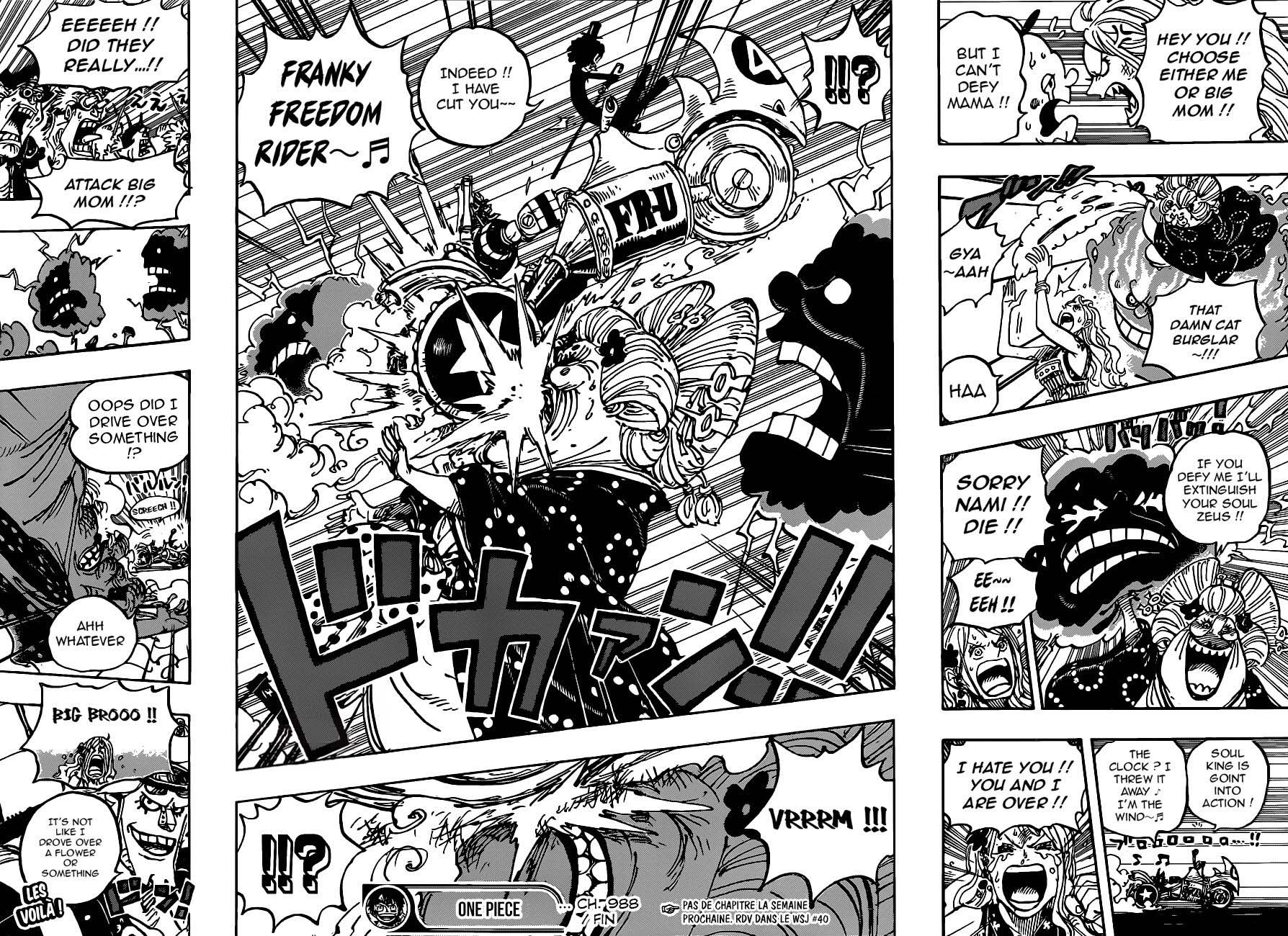 One Piece, Chapter 988 image 012