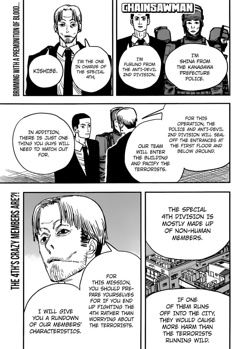 Chainsaw Man, Chapter 34 - All Members Assemble image 001