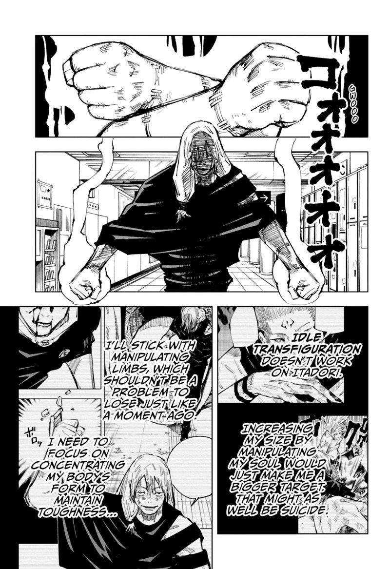 Jujutsu Kaisen, Chapter 121 image 012