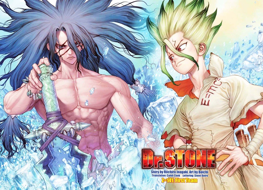 Dr. Stone : Chapter 141 - First Team image 002