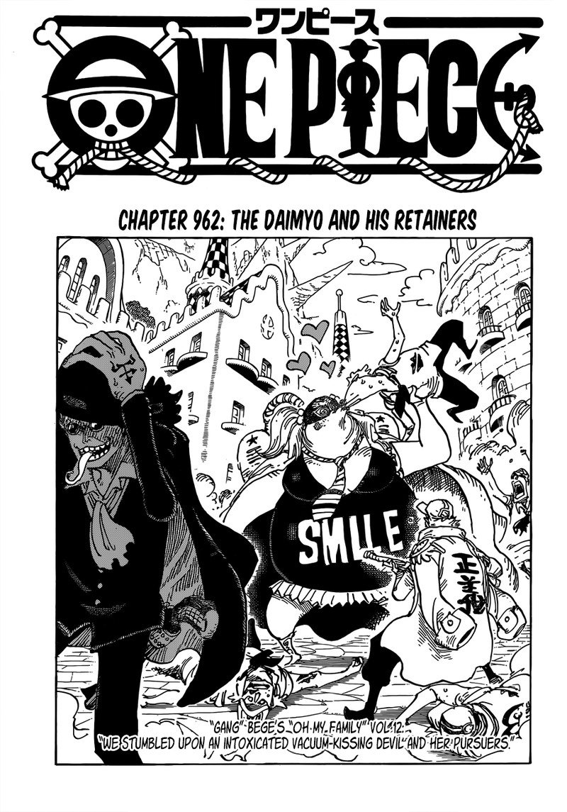 One Piece, Chapter 962 image 001